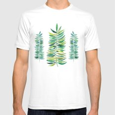 Three Ferns Mens Fitted Tee MEDIUM White