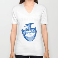 1989 V-neck T-shirts featuring 1989 by KNJ-