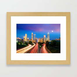 Atlanta 02 - USA Framed Art Print