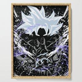 Goku Ultra Instict Migatte no Goku Dragon Ball Super saiyan Serving Tray