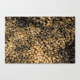 Need Wood? Canvas Print