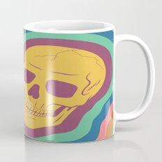 Trippy Rainbow Skull Mug