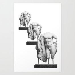 W. Lysippos  Art Print