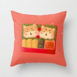 Lunch Break Throw Pillow
