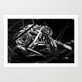 Shape & Bloom Art Print