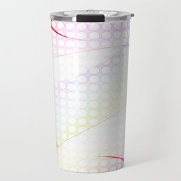 abstract colorful tamplate Travel Mug