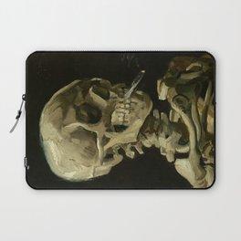Vincent Van Gogh Skeleton Laptop Sleeve