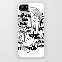 The Serpent iPhone Case
