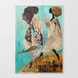Heavenly Virgins Canvas Print