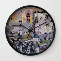theater Wall Clocks featuring Theater by NouriHeba
