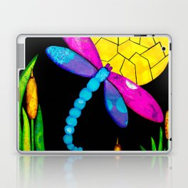 Find Your Way - paper pieced dragonfly Laptop & iPad Skin