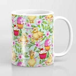 Ducklings' Spring Picnic Coffee Mug