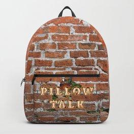 Pillow Talk - Brick Backpack
