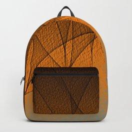Gauze Pattern Backpack