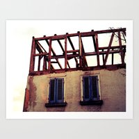 building Art Prints featuring Building by PerfectPixel