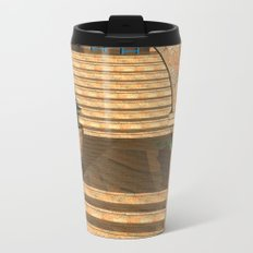 Old Town Stairs and Arches Metal Travel Mug