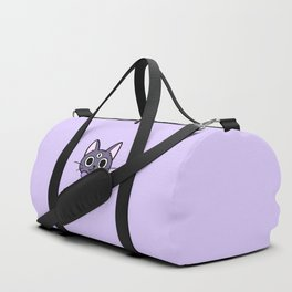 Three Eyed Kitty Duffle Bag