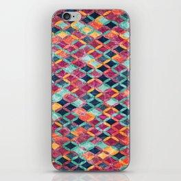 Colorful Geometric Pattern #07 iPhone Skin