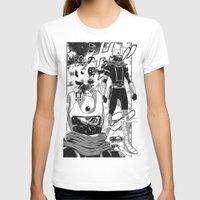manga T-shirts featuring Manga 04 by Zuno