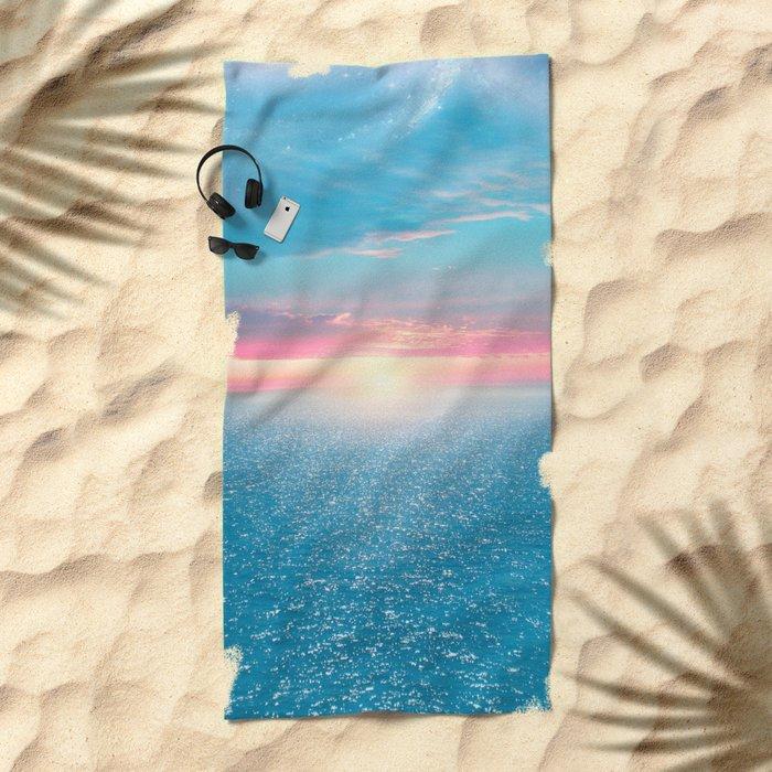 Pastel vibes 32 Beach Towel