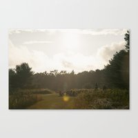camp Canvas Prints featuring Camp by Isaac MacDonald