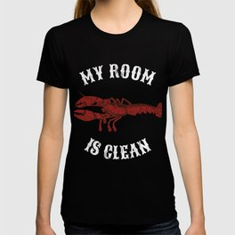 Clean Your Room Jordan Peterson Dominance Hierarchy Lobster SJW 12 Rules For Life T-shirt