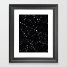 Dazed + Confused [Black] Framed Art Print
