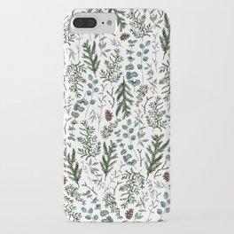 Pine and Eucalyptus Greenery iPhone Case
