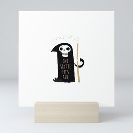 One Scythe Fits All Mini Art Print