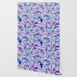 Kamasutra LOVE - Indigo Blue Wallpaper