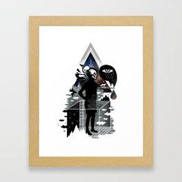 Ghosts Framed Art Print