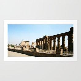 Temple of Luxor, no. 30 Art Print