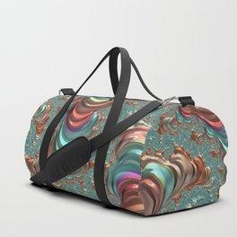 colorful fractal Duffle Bag