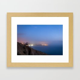 An Evening on the Coast Framed Art Print