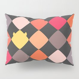 Warm Hug of Geometric Rebelion Pillow Sham