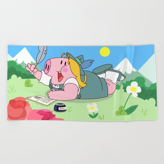 Strubel (Peepoodo) Beach Towel