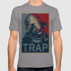 TRAP Tri-Grey SMALL Mens Fitted Tee