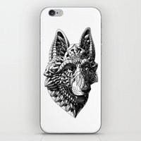 german iPhone & iPod Skins featuring German Shepherd by BIOWORKZ