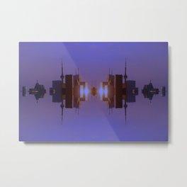 Skyline Symmetry in Toronto, Ontario  Metal Print