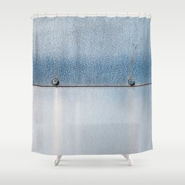 Blue over Blue 02 Shower Curtain