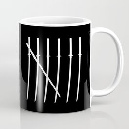 The Samurai Checklist Coffee Mug