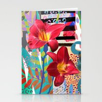 lily Stationery Cards featuring Lily by Crystal Manning