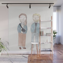 Nice day for a date Wall Mural
