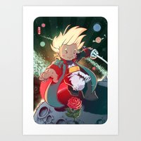 le petit prince Art Prints featuring Le Petit Prince by Jordan Lewerissa