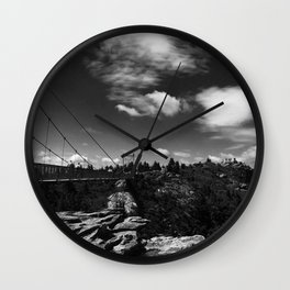 Grandfather Mountain Wall Clock