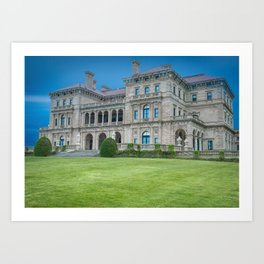The Breakers in HDR Art Print