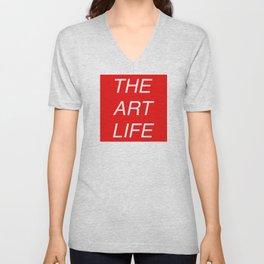 The Art Life Unisex V-Neck