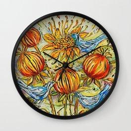 Seedburst Wall Clock