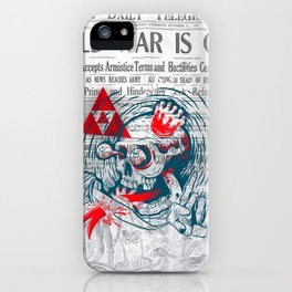 Speak No Evil by Handsome Lad iPhone Case