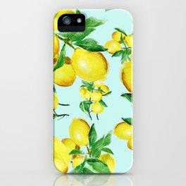 lemon 2 iPhone Case
